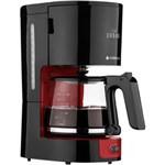 Ficha técnica e caractérísticas do produto Cafeteira Elétrica Cadence Urban Coffee CAF600 Até 30 Xícaras - Preta/Vermelha - 110V