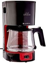 Ficha técnica e caractérísticas do produto Cafeteira Eletrica Urban, Cadence CAF600-220, Vermelho