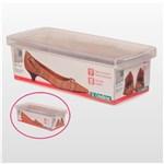 Ficha técnica e caractérísticas do produto Caixa de Sapato Transparente - Pequeno