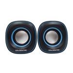 Ficha técnica e caractérísticas do produto Caixa de Som 6.0w Rms Goldentec Gt Sound 2.0 Preto/Azul