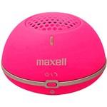 Caixa de Som Maxell Mini Speaker Bluetooth Rosa