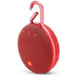 Ficha técnica e caractérísticas do produto Caixa de Som Portátil Bluetooth Prova D'água Jbl Clip 3 Vermelho