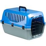 Ficha técnica e caractérísticas do produto Caixa de Transporte para Animais Azul - Meemo