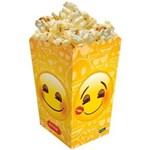 Ficha técnica e caractérísticas do produto Caixa para Pipoca 8 Unidades - Emoji