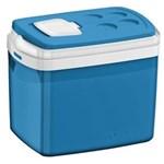 Ficha técnica e caractérísticas do produto Caixa Térmica Soprano Azul 32 Litros