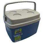 Ficha técnica e caractérísticas do produto Caixa Térmica Tropical 12 L Azul Soprano