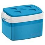 Ficha técnica e caractérísticas do produto Caixa Térmica Tropical 12L Azul Soprano - Azul Royal