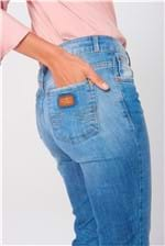 Ficha técnica e caractérísticas do produto Calça Cropped Jeans Cintura Alta