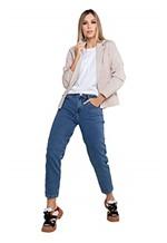 Ficha técnica e caractérísticas do produto Calça Feminina Mom - Jeans - 44