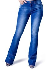 Ficha técnica e caractérísticas do produto Calca Jeans Boot Cut Equivoco Loren