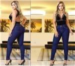 Ficha técnica e caractérísticas do produto Calça Jeans Cintura Alta (36)