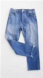 Ficha técnica e caractérísticas do produto Calça Jeans Feminina Mom H&m (40)