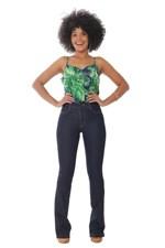 Ficha técnica e caractérísticas do produto Calça Jeans Flare Boot Cut - 252255 - Sawary