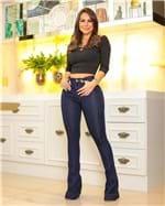 Ficha técnica e caractérísticas do produto Calça Jeans Flare Cintura Alta 2342 (36)