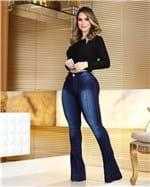 Ficha técnica e caractérísticas do produto Calça Jeans Flare Cintura Alta 2344 (36)