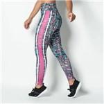 Ficha técnica e caractérísticas do produto Calça Legging Fitness Sublimada Foliage Feminina