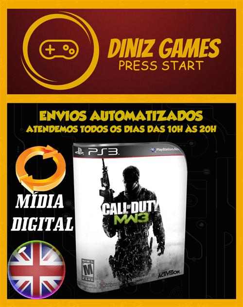 Ficha técnica e caractérísticas do produto Call Of Duty Mw3 Ps3
