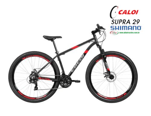 Ficha técnica e caractérísticas do produto Caloi 29 Supra