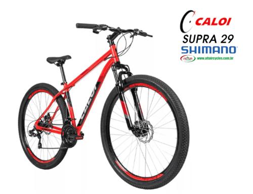 Ficha técnica e caractérísticas do produto Caloi Supra 29