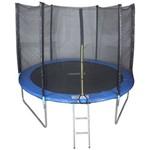 Ficha técnica e caractérísticas do produto Cama Elastica 3,05m Pula Pula Trampolim Premium 305cm Tssaper + Escada + Rede