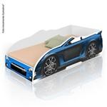 Cama Infantil Carro Sport - Azul