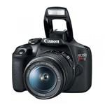 Ficha técnica e caractérísticas do produto Câmera Canon T7 Eos Rebel Wi-Fi e Lente 18-55Mm Is Ii