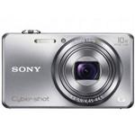 "Câmera Cyber-Shot Sony Dsc-Wx200 / Prata / Lcd 2,7"" / 18.2 Mp / 3d / 8g / Foto Panorâmica"