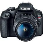 Ficha técnica e caractérísticas do produto Câmera Digital Canon T7 com Lente Ef-S 18-55Mm