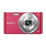 Câmera Fotográfica Sony Dsc-w830 Tela 2.7 de 20.1mp HD X8 Zoom Óptico - Rosa