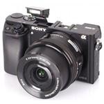 Câmera Sony A6300 com Lente 16-50mm 4k
