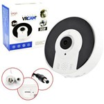 Camera Vrcam 360 3d 1.3mp Panoramica Ip HD Audio P2p Wifi Kp-ca107 Ipega