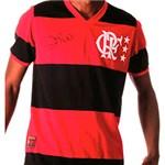Ficha técnica e caractérísticas do produto Camisa Braziline Masculina Flamengo Zico Libertadores 81