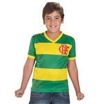 Camisa Flamengo Flabra Hexa Infantil