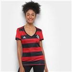 Ficha técnica e caractérísticas do produto Camisa Flamengo I 2018 S/n° Torcedor Adidas Feminina