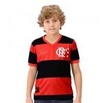 Ficha técnica e caractérísticas do produto Camisa Flamengo Infantil DRY Zico - Braziline