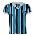 Ficha técnica e caractérísticas do produto Camisa Grêmio Retrô 1977 Nº 9 Masculina