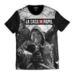 Ficha técnica e caractérísticas do produto Camisa - La Casa de Papel - PRETO - M