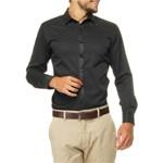 Ficha técnica e caractérísticas do produto Camisa Social Broken Rules Slim