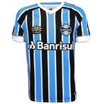 Ficha técnica e caractérísticas do produto Camisa Umbro Masculina Grêmio Oficial I 2018 Game