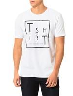 Camiseta Calvin Klein Jeans Estampa Branco - GG