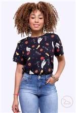 Ficha técnica e caractérísticas do produto Camiseta Colcci Estampada - Multicolorido