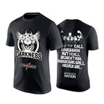 Camiseta Dry Fit Integralmedica Darkness Preta TAMANHO P
