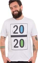 Ficha técnica e caractérísticas do produto Camiseta Estampada 2020