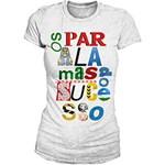 Ficha técnica e caractérísticas do produto Camiseta Feminina os Paralamas do Sucesso - Type