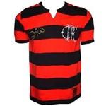 Ficha técnica e caractérísticas do produto Camiseta Flamengo Retrô / Zico - Tamanho G