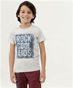 Ficha técnica e caractérísticas do produto Camiseta Infantil Estampa Frontal Manga Curta
