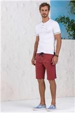 Camiseta Lado Avesso Branco Tam. M