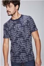 Ficha técnica e caractérísticas do produto Camiseta Masculina Estampada