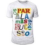 Ficha técnica e caractérísticas do produto Camiseta Masculina os Paralamas do Sucesso - Type