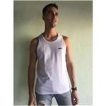 Ficha técnica e caractérísticas do produto Camiseta Masculina Regata - 303 - BRANCO - EG